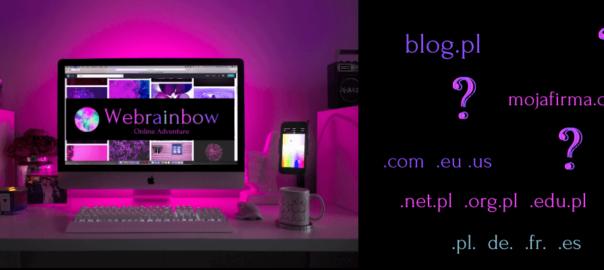 Webrainbow - jak wybrać domenę